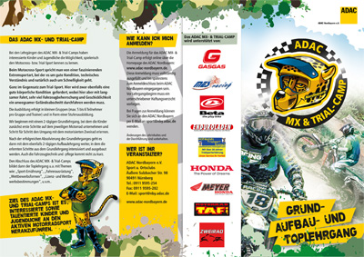 ADAC MX und Trial Camp Flyer 1